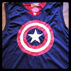Marvel Tops - Captain America active tank top